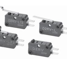 优惠供应欧姆龙D2RV-L13G小型基本开关全新原装