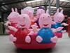 新款蝴蝶充气电瓶车公园游乐设施广场儿童的游乐玩具