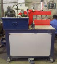 ZF-16全球供应液压铝型材切割机木材亚克力塑胶切角机厂家直销