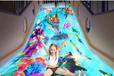上海斯当特厂家直销儿童乐园设备投影互动滑梯