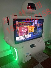 """斯当特SDT006""""互动式""""大白,儿童游戏设备的""""高富帅""""体感机器人"""