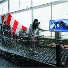 斯当特厂家供应SDT006极限挑战VR体验馆设备VR雪山吊桥