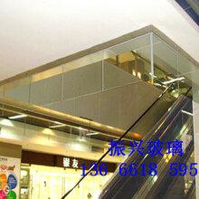 四川成都中空防火玻璃,弧形防火玻璃,镀膜防火玻璃,挡烟垂壁防火玻璃图片