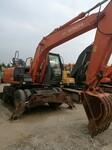 现出售二手极品日立130轮挖.135.200.210挖掘机数台图片
