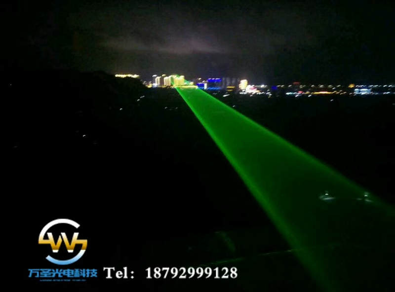 贵阳市独山县紫林山国家森林公园安装20W地标激光灯-万圣激光