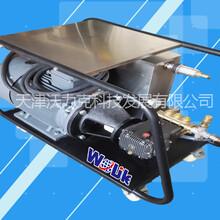 天津沃力克500bar钢筋喷砂除锈高压清洗机图片
