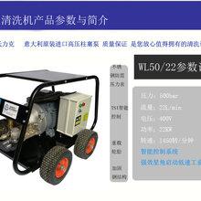 沃力克WL5022鋼筋噴砂除銹工業用高壓清洗機!高壓清洗機疏通管道圖片