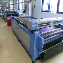 西服高端定制专用设备智能激光裁床全自动激光裁剪机SJF1626A图片