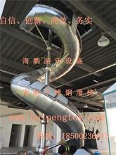 厂家定做不锈钢滑梯质量有保障外观完美免费设计