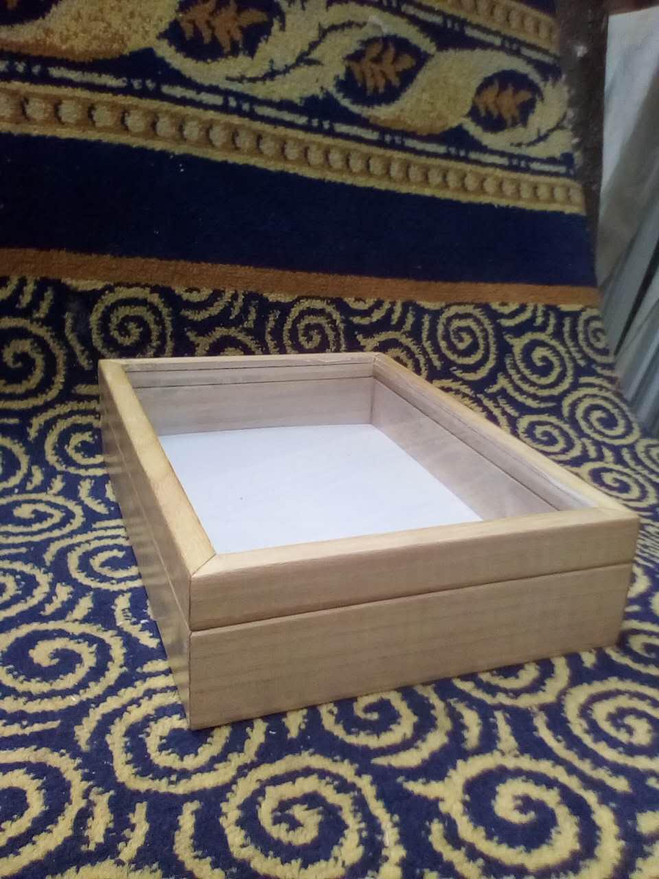 木质标本盒实木制作昆虫标本盒植物标本盒科教标本盒厂家