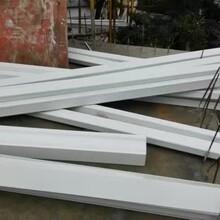 重庆铝合金成品雨水槽铝合金壁厚雨水管彩铝成品天沟图片