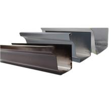 福建福州K型屋檐接水槽金属天沟有现货成品图片