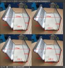 重庆渝中K型彩铝天沟别墅水槽质量10年图片