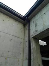 安徽合肥成品檐沟排水槽铝合金落水管排水系统仿古铜色图片