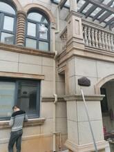 遼寧大連別墅外墻方形雨水管系統圖片