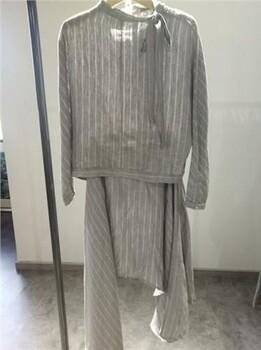 广州红衣坊原创,风格上衣,灰色条纹,衣之道供