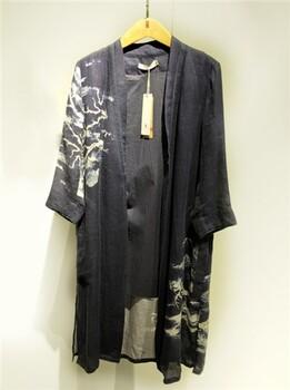 广州红衣坊原创,秋季印花开衫,深蓝,衣之道供