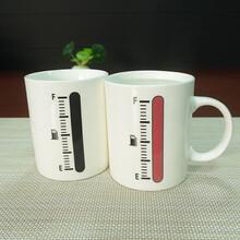 温度变色杯魔术变色杯热咖啡杯陶瓷马克杯厂家批发可定制logo