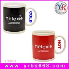 厂家批发定制变色杯直筒马克杯创意咖啡杯定制印刷企业logo