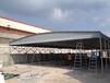 中盛厂家直销移动式钢结构雨棚大型固定仓库大型活动遮雨蓬