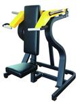 健身房用力量器械大黄峰圆动臂坐式推胸训练器图片