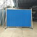 防火岩棉夹芯板PVC围挡彩钢板夹心板围挡