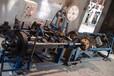供应单股、双股、刀片刺丝机、刺绳网机、刺丝网机械