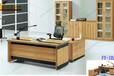 成都厂家直销高大上气质办公桌老板桌可上门量尺寸定制