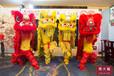 洪武合肥黃飛鴻國術館舞獅,阜陽慶典洪武黃飛鴻龍獅團舞獅演出