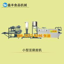 山东临沂高效率豆腐皮机全自动豆腐皮机鑫丰专业生产商