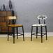 主题餐厅餐椅,复古工业餐椅,铁艺实木结合餐椅定做