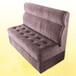 香港咖啡厅桌椅沙发定制,软包拉扣沙发,扶手沙发提供BS7176防火证