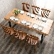 专业定做各类餐饮家具餐桌餐椅卡座沙发,送货安装