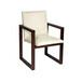 老船木实木现代家具客厅靠背单人椅子中式餐厅禅意带扶手桌椅订做
