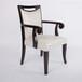 生产奢华餐椅贴金椅子欧式木椅子订做家居酒店餐厅家具