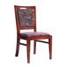 众美德餐饮家具批发供应餐厅实木家具实木餐椅饭店餐椅榆木家具座椅订做订制