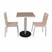 家具厂家订做茶餐厅成套家具防火板餐桌椅两人位餐桌椅组
