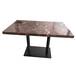 现代大理石餐桌定做,茶餐厅桌子,人造石桌子价格实惠