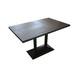 大理石餐桌定做,仿石材茶餐厅桌子,定制餐厅家具餐桌