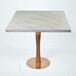 现代大理石桌子定做,人造石西餐厅,仿石材桌子价格实惠