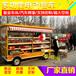 河南定制美食车四轮小吃车移动超市小吃车迅蓝厂家