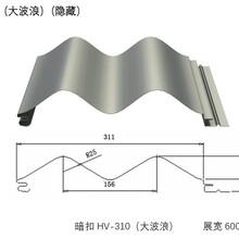 宜春丰城开口楼承板铝镁锰板厂家彩钢仿古瓦图片