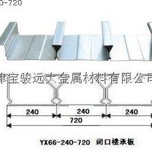 天津YJ66-720型闭口型楼承板图片