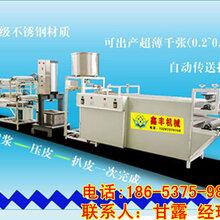 巴中自動豆腐皮機械價格氣壓壓豆腐皮機器鑫豐豆腐皮機生產視頻圖片