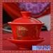 彩绘手抓壶大号泡茶盖碗粉彩陶瓷盖碗茶具