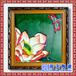 复古山水瓷板画企业励志标语陶瓷壁画定做