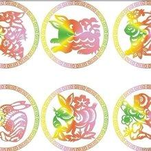 陕西民间艺术剪纸、山西民间特色艺术剪纸图片