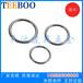 天波厂家供应福州五金索具不锈钢圆环价格O型环焊接钢环
