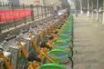 公共自行车建设中法瑞纳城市公共自行车租赁在城市最后一公里接力进行