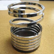 正宗国标防锈达标不锈钢线材,304无磁不锈钢扁线图片
